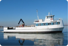 Fire Island freight boat